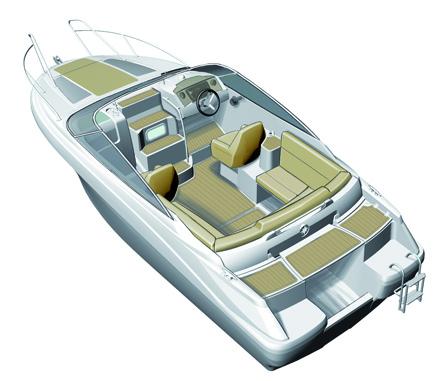 Cap Camarat 635 Day Cruiser