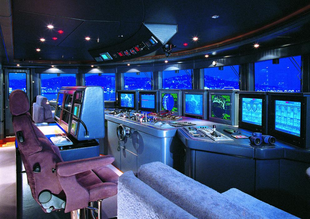 Radar nautico