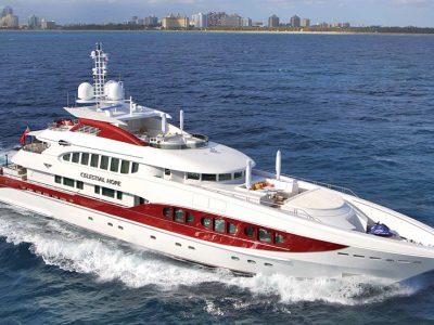 Heesen Yachts Celestial Hope, quarantasette metri di paradiso