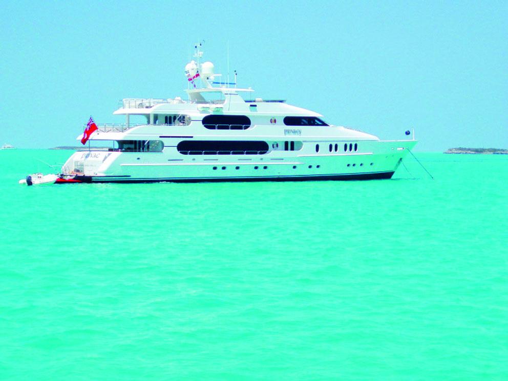 Yacht di Tiger Wood in vendita