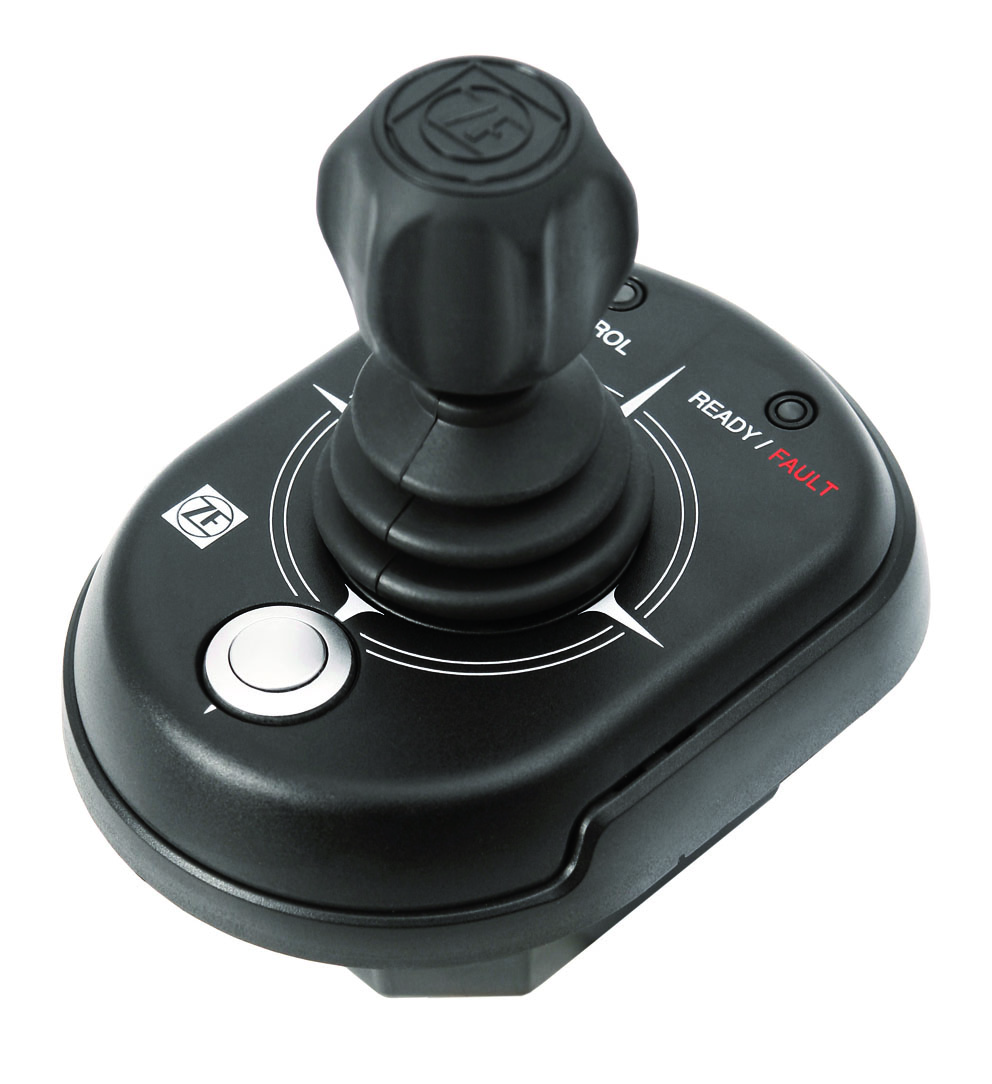 Single Pod propulsion system con controllo joystick