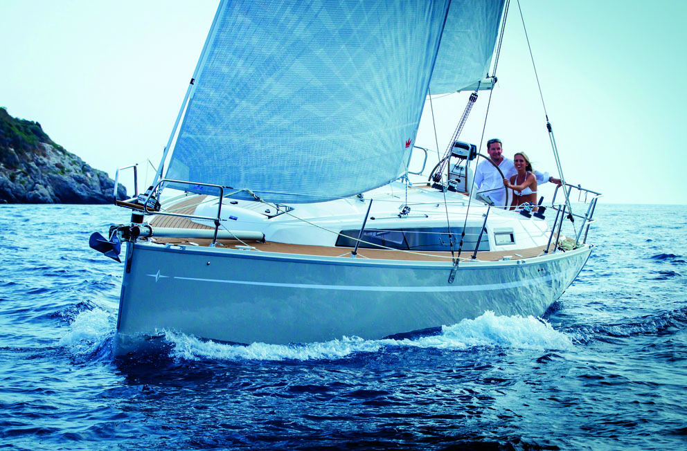 Bavaria Cruiser 33, natural born cruiser