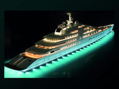 Lürssen Azzam, lo yacht dei record