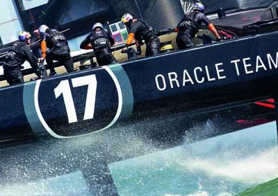 America's Cup, over the flop