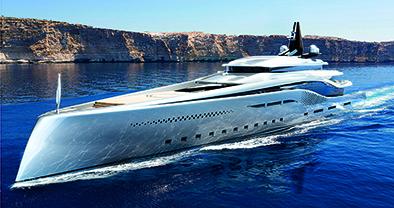 Oceanco Stiletto, wonderland ship