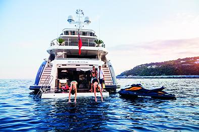 Le regole relative all'uso dello Yacht