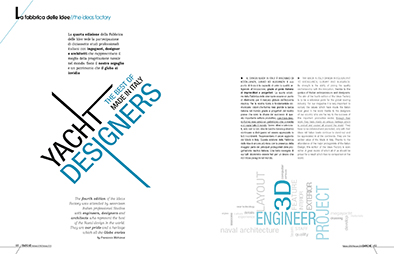 Yacht Designers, the Ideas Factory