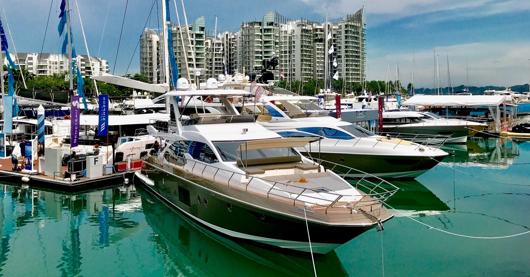 Chi c'è al Singapore Yacht Show?