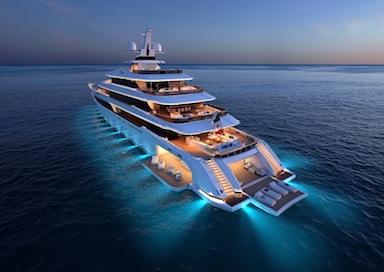 Columbus entra nel mondo dei mega yacht. Ecco il suo 80 metri