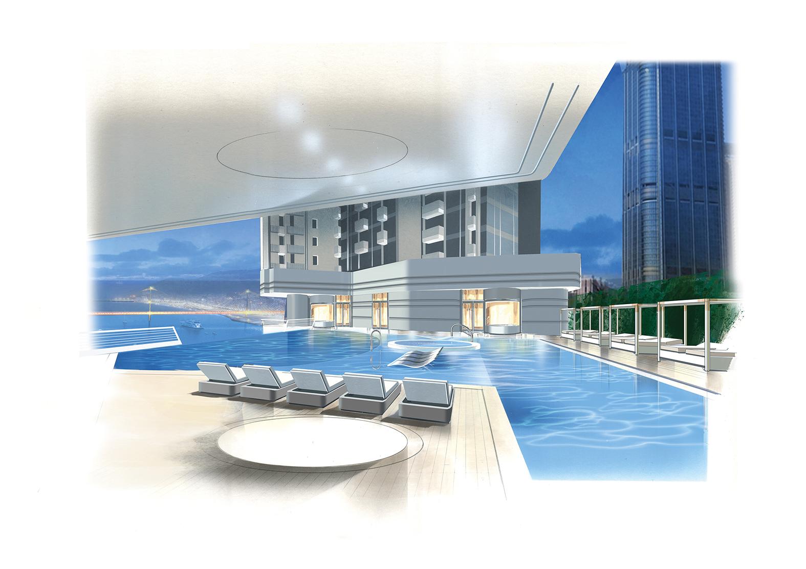 Philippe Briand Pavilia Bay Grattacieli Come Barche A Vela