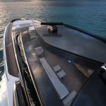 Riva 110' bow view