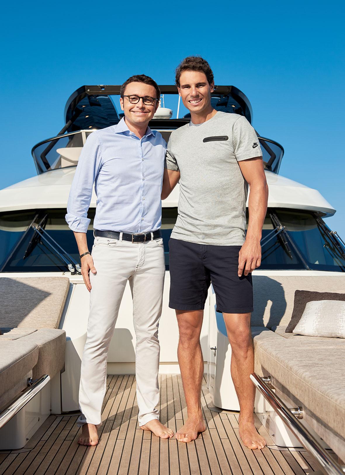 Rafael Nadal The Boat Is Allways My Great Refuge