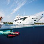 Apertura Sunseeker 116 yacht