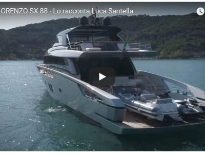 Sanlorenzo SX88, la parola a Luca Santella
