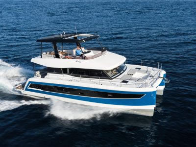 Fountaine Pajot MY 44, more space, lower fuelconsumption