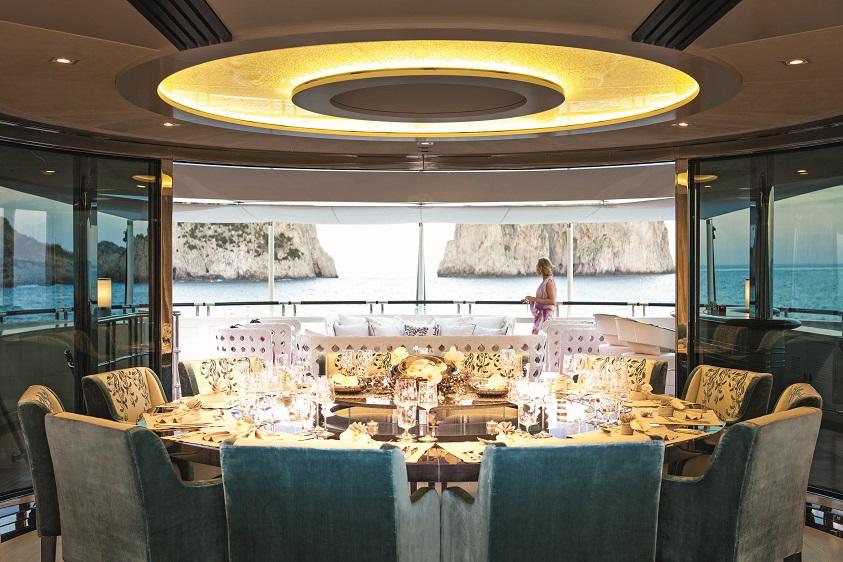 Vulkan il segreto per creare il silenzio a bordo degli yacht for Il canotto a bordo degli yacht