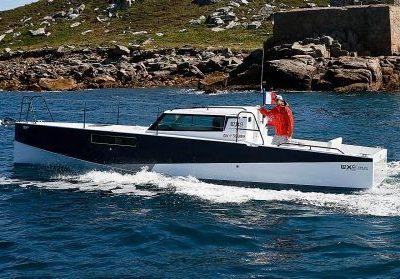 Loxo 32, dal mondo della vela una carena a motore super efficiente