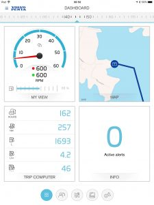 Volvo Penta Easy Connect - dashboard