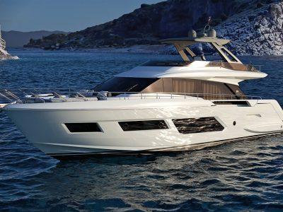 Ferretti Yachts 670, l'erede del 65′ è firmato Filippo Salvetti