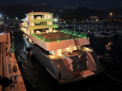 Admiral Planet Nine 75 metri, di Italian Sea Group