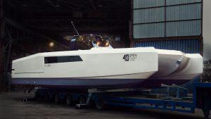 40 Open Sunreef Power yacht