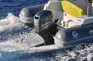 Yamaha F40 barchemagazine yacht