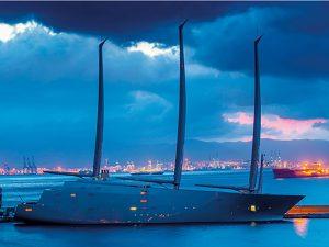 SY A Yacht design