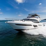 princess yachts 62-exterior-white-hull-1