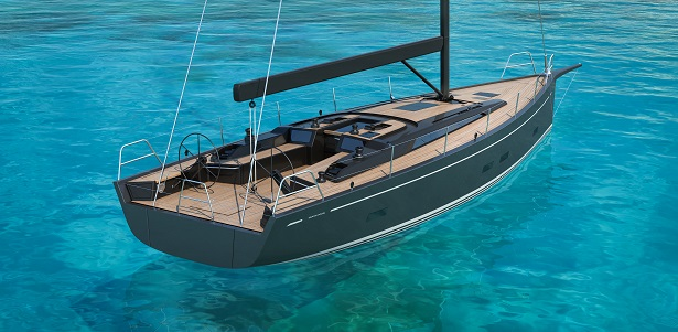 Grand Soleil 48 Performance, elegante cruiser-racer. La première sarà a Cannes