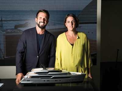 Zuccon International Project, form and function in the yacht design