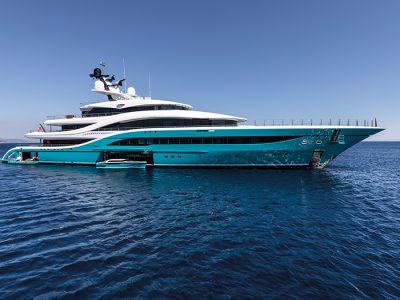 Turquoise Yachts GO: exotic glamor cutting-edge technology
