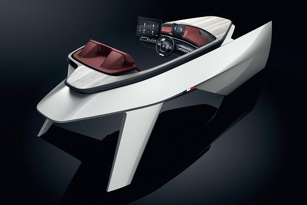 Sea Drive Concept: da Bénéteau e Peugeot la plancia del futuro?