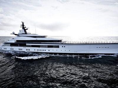 """Oceanco consegna Project Bravo: linee """"infinite"""" di Nuvolari e Lenard"""