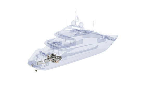 Sunseeker and Rolls Royce to present first hybrid series yacht