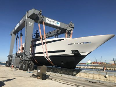 Palumbo Superyachts, launched the ISA 43m Alloy Agora III