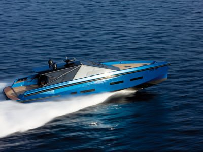 Ten years of yacht design: production boat