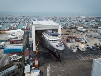 Cantiere delle Marche: K42 Avdace has been launched, the biggest ever