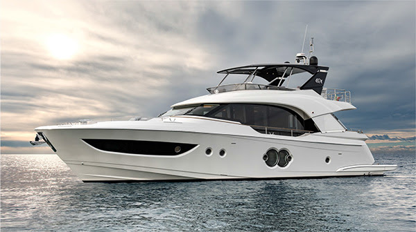 Monte Carlo Yachts has unveiled its MCY 70, the first of 3 new 2019 models