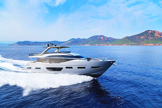 Princess and Pininfarina at boot Düsseldorf to present the new X95 and Y85