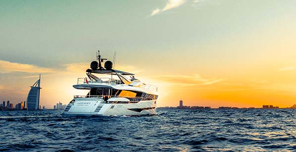Dominator Yachts, Ilumen debuts in the Middle East