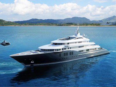 Icon Yachts' flagship superyacht Icon 280