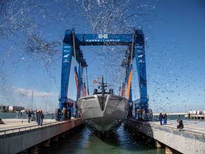 Pershing 140: here is the new flagship