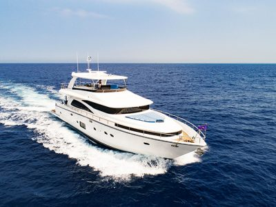 Johnson Yachts has launched the superyacht Johnson 80