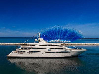 CRN launched the new 79-metre yacht M/Y 135