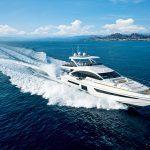 Timone yachts Azimut G25METRI Running 1