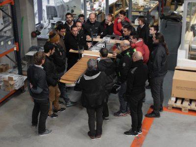 Besenzoni, its Service University stops in Spain