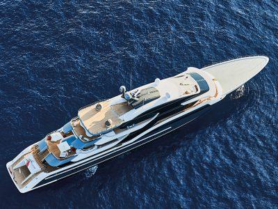 """Oceanco 90M DAR, il magnifico """"dono""""…"""