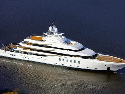 Lürssen Yachts announced the launch of project Fiji