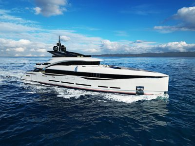 Isa Yachts announces the sale of a new 45-metre Gran Turismo