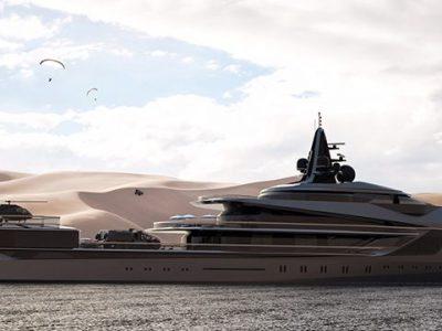Oceanco: revealed new 105-meter Esquel at the Dubai International Boat Show
